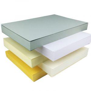 50张1包,支持激光打印。5色可选。可用于模型,纸雕,打印,名片等