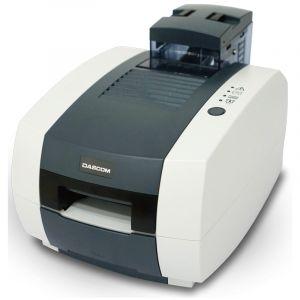 得实证卡打印机DC-1300直热式300DPI可擦写智能卡打印机