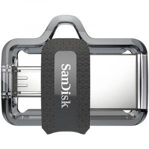 闪迪(SanDisk)64GB至尊高速酷捷OTGUSB3.0手机U盘读150MB/秒,(micro-USB和USB双接