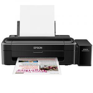 EPSON爱普生L130墨仓式彩色喷墨照片打印机家用A4办公相片