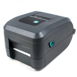 ZEBRA斑马GT820桌面条码打印机(203dpi)不干胶打印机标签机+3个亚银标签纸+2个碳带