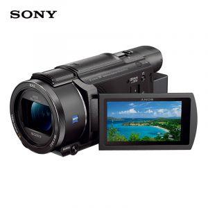 Sony/索尼FDR-AX604K新品数码摄像机快捷编辑/家用专业手持摄像机/5轴防抖约20倍光学变焦[配包+64G]
