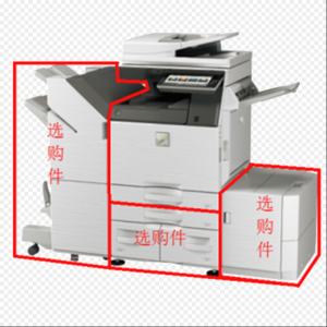 夏普(SHARP)MX-C3581RV主机标配复印机