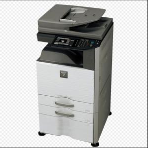 夏普(SHARP)DX-2508NC复印机打印扫描A3大型打印一体机彩色数码多功能复合机3纸盒,加原装硒鼓