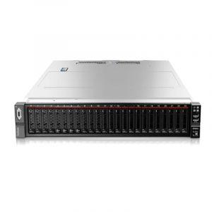 ThinkSystem SR650 2U双路机架式服务器 3104*1 6核 1.7GHZ 85W/16G*2 DDR4 2666MHZ/ 2*600G 10K SAS 8*2.5寸/ R530-8I 1G/550W*2