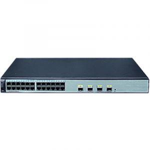 华为(HUAWEI) S1720-28GWR-PWR-4P 华为交换机 24个10/100/1000Base-TPoE+以太网端口,4个千兆SFP,370WPOE交流供电