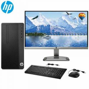 惠普(HP)HP 280 Pro G4 MT Business PC-N6010000059台式电脑 Intel赛扬G4900 3.1GHz双核 4G-DDR4内存 500G SATA硬盘 集显 无光驱 DOS系统+21.5英寸显示器 三年保修