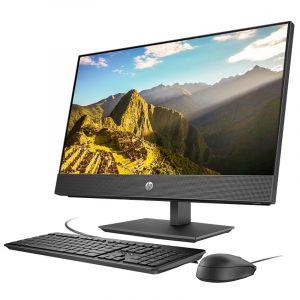 惠普(hp)HP ProOne 400G4 20.0-inNon-Touch GPU AiO 一体机电脑Intel酷睿I5-8500 2.1GHz 六核/8G-DDR4/1T硬盘/集显/DVDRW/DOS/20寸/三年上门黑色