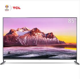 TCL 85X6C 85英寸高端巨幕 超清4KHDR全面屏 2+16G高配置人工智能电视机
