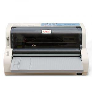 OKI 7000F营改增发票支票 快递单出库单后进纸连打MICROLINE 7000F针式打印机