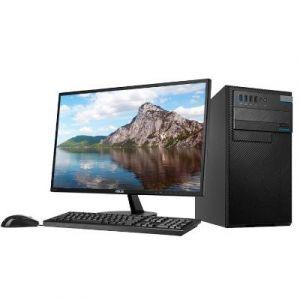 华硕(ASUS)D640MB-I3D00089 台式电脑(I3-8100/4G/1TB/128G/中标麒麟V7.0/21.5寸显示器)