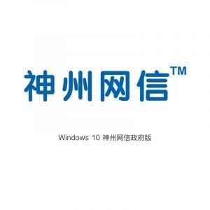 微软(Microsoft) win10 神州网信政府版
